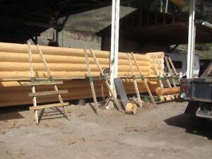 Larch Log House Shell