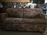Love seat hide a bed