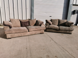 Fabric 3+2 seater sofas couches suite 🚚