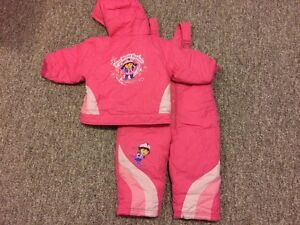 Dora the explorer snowsuit