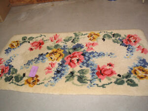 Latch hook rug