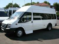 FORD TRANSIT 16 SEAT FRONT ENTRY WHEELCHAIR ACCESSIBLE MINIBUS COIF PSV 2013