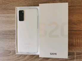 Samsung galaxy S20 FE 128GB Cloud White Dual SIM Unlocked