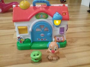 Petite Maison musicale jouet