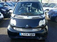 2004 LPG SMART CABRIOLET CABRIO CONVERTIBLE FULLY AUT 12mths MOT 6 mth WARRANTY