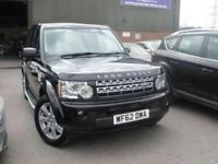 2012 62 LAND ROVER DISCOVERY 3.0 4 SDV6 GS 5D AUTO 255 BHP DIESEL