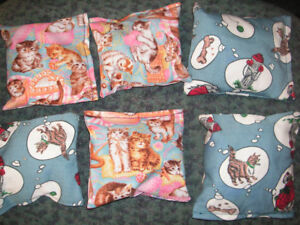 Home Grown FRESH Home Made Sewn Cat nip Cushions.Toys for your
