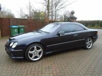 2002 Mercedes-Benz CL55 AMG 5.4 Auto