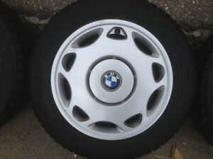 BMW Wheels,Tires,Hubcaps. All included, set of 4