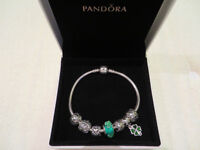 BRACELET PANDORA COMPLET (ORIGINAL ET AUTHENTIQUE)