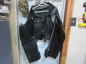MOTORCYCLE CHAPS BY BRISTOL
