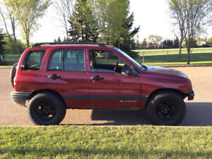 2001 Chevy Tracker 4x4 5 spd- needs timing chain