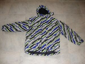 UNISEX  WINTER  JACKET  WITH  HOOD