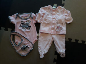 0-3 Month Girl Outfits