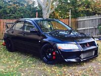 MITSUBISHI EVO 7...320 BHP DYNO/REMAPPED/FULL HISTORY..NATIONWIDE DELIVERY 7995