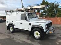 2011 Land Rover 110 Defender 2.4TDCI Utility Vehicle Winch Utility racking