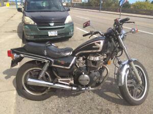 Honda nighthawk 1982 450cc 45000km motorcycle