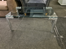 Brand New Elite Glass Coffee Table