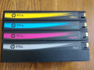 HP 971XL INK CARTRIGES -- Reduced!
