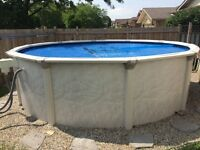 15' Above Ground Pool.  Best offer