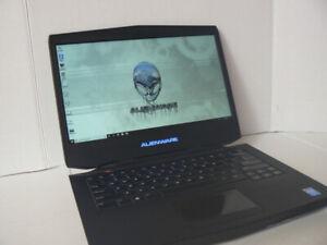 "Gaming ALIENWARE laptop 14"" 16gb ram NVIDIA GeForce GTX 765M"