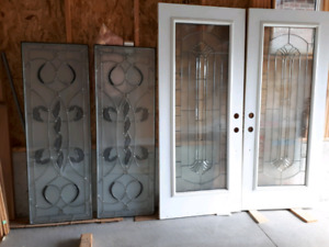 Doors and custom stain glass