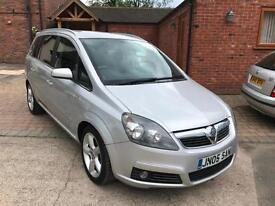 2007 Vauxhall Zafira 1.8i (140 PS) SRi * 7 Seater Family Car *