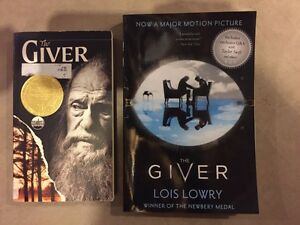 THE GIVER by Lois Lowry $6.00
