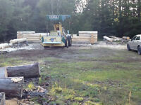Log shell for. Sale. With loft