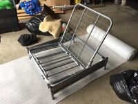 Metal Fold Out Bed / Chair