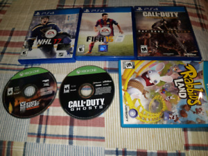 For sale random video games bundle all for 40 dollars firm.