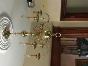 Brass chandelier for sale! Antique