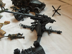 21st Century Toys German Halftrack and 88mm gun Sarnia Sarnia Area image 2