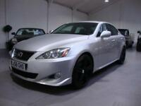 Lexus IS 250 2.5 SR Auto, 2008 58, Silver with 19in Black Alloys, FSH, Nav+Cam