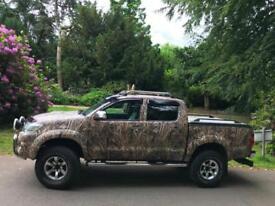 2012 Toyota Hi-Lux 3.0D-4D NO VAT AUTO INVINCIBLE 61k Miles Jack Pyke wrapping
