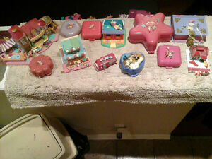 POLLY POCKET COMPACTS LOT (12)