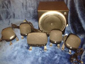 Logitech Z640 5.1 PC Surround Sound Speakers