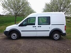 2012 FORD TRANSIT CONNECT T230 TDCi HIGH ROOF ~ LWB CREW VAN ~ FINANCE ARRANGED