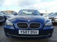 2007 07 BMW 5 SERIES 2.0 520D SE 4D 161 BHP AUTOMATIC MINT DIESEL
