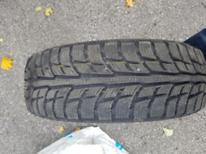 4 winter tires (15 inches) - Used only last winter 3000 km.