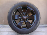"20"" FORD F-150 FACTORY BLACK FX4 ALUM WHEELS/TIRES - BRAND NEW !"
