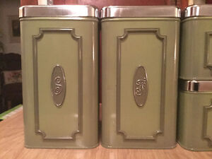 Vintage 4-piece canister set Regina Regina Area image 3