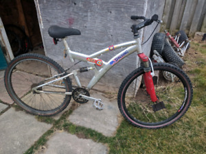 Spalding mountain bike roller with upgrades