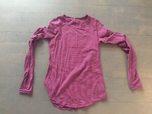 Lululemon size 8 - $40 each - 8 different tops