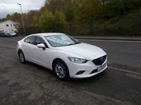 MAZDA 6 SE NAV D 2.2 DIESEL NEW SHAPE SALOON MANUAL £20 A YR RFL - BAL AFTER 1000 MIN PX ALLOW 8995