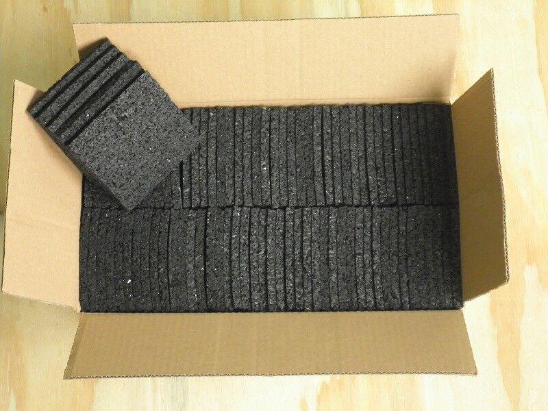 (14,00EUR/m²) Terassenpads 10cm x 10cm in 3mm ,4mm ,5mm ,6mm bis 1000 Stück