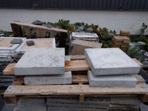 Concrete Wall Caps and Post Caps