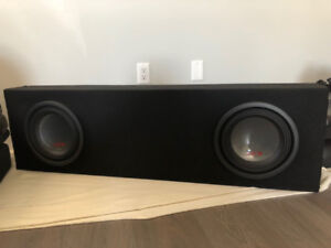 "Alpine Type R 12"" Subwoofer w/ Alpine PDX-M12 Amplifier"