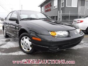 2002 SATURN S-SERIES SL1 4D SEDAN