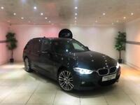 2014 BMW 3 SERIES TOURING 320D XDRIVE M SPORT AUTO ESTATE BLACK 1 OWNER 4x4